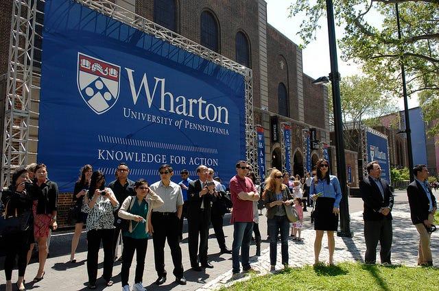 Wharton Ties with Harvard as Best Business School