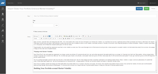 Websites The Front Door To Your Advisory Practice Investopedia