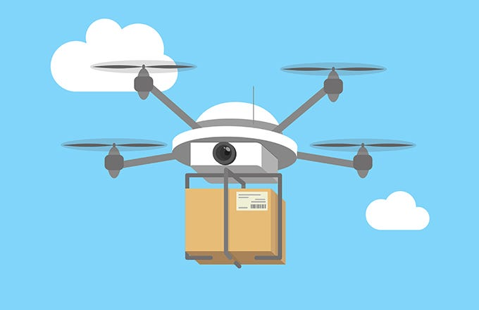 amazon delivery drones with 3 Ways Drones Are Changing Amazons Business Amzn on Ct Amazon Delivery Trucks Bsi 20151204 Story likewise Watch additionally Medical Drones besides Amazon Echo Heather Grey Fabric 10171185 Pdt as well Walmart testing warehouse drones to manage inventory.
