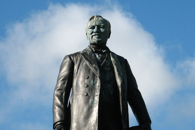 How Did Andrew Carnegie Get Rich? (X)