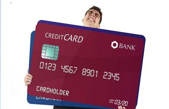 istock - Total Visa Unsecured Credit Card