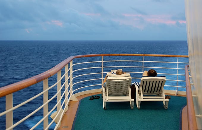 Retire on a Cruise Ship With Less Than $1 Million