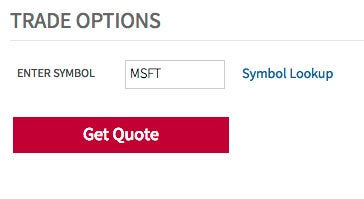 How to purchase options trade