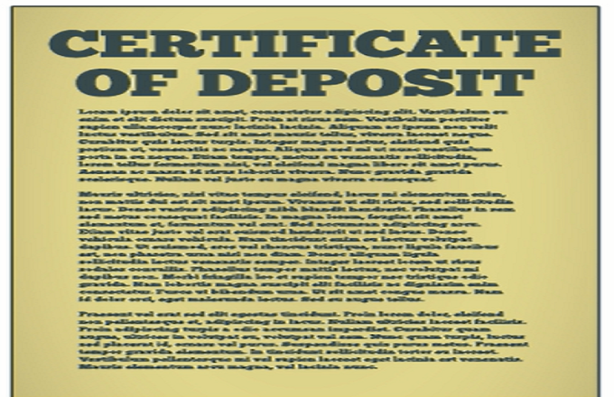 Negotiable Certificate Of Deposit (NCD)