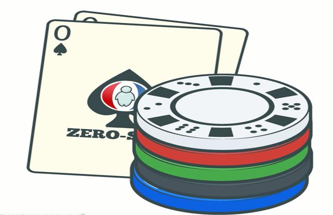 Zero sum game deutsch