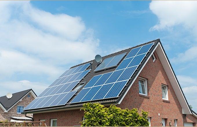Solar panel installation simulation dating