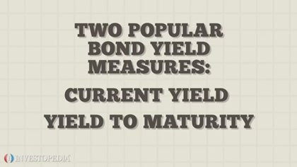 Current yield to maturity