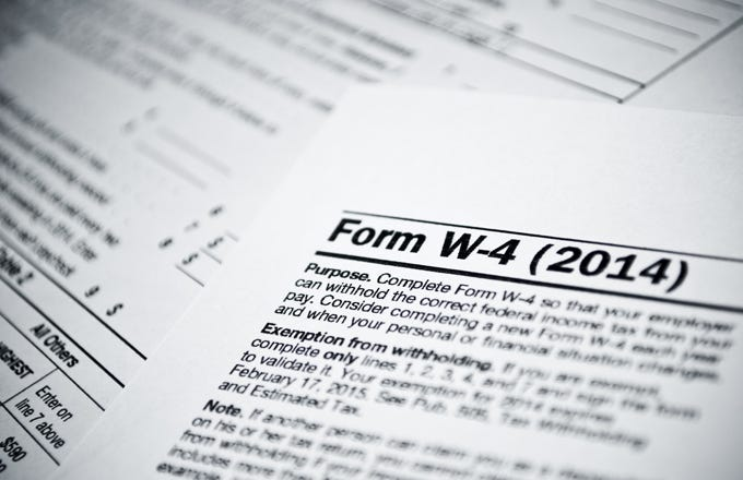 How To Fill Out Your W 4 Form Investopedia