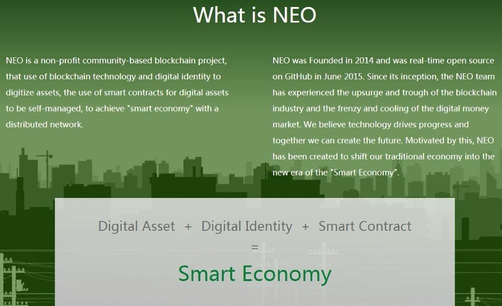 Why Neo Can Do What No Other Cryptocurrency Can Do Investopedia