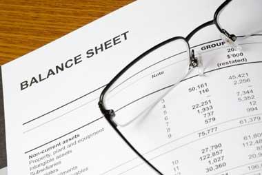 balanace sheet
