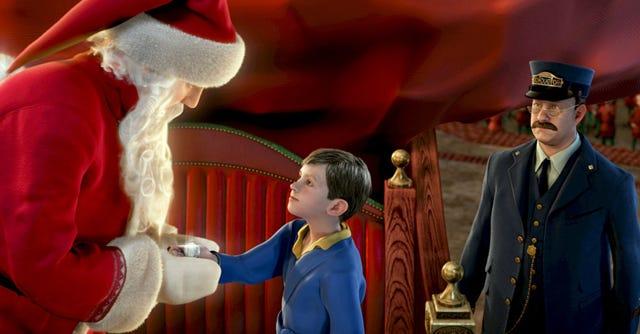 The Polar Express (2004) - Movietube - Animation Movie |The Polar Express Voice Actors