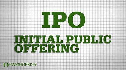 Public record of new ipo initial