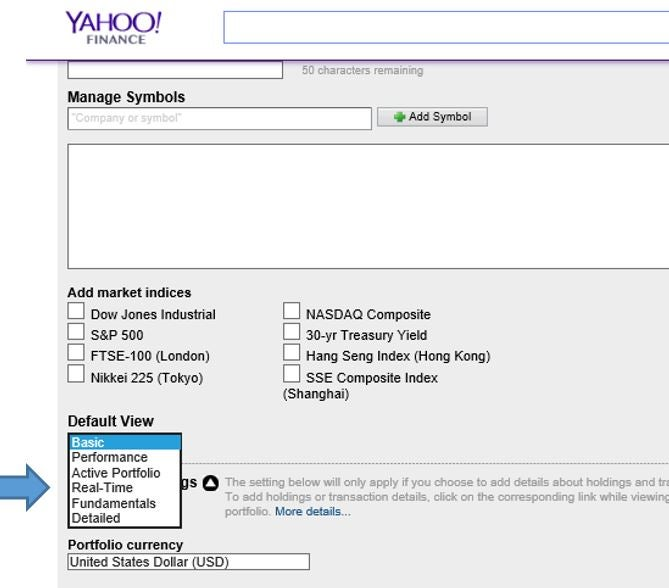 Tracking Your Portfolio On Yahoo Finance Investopedia
